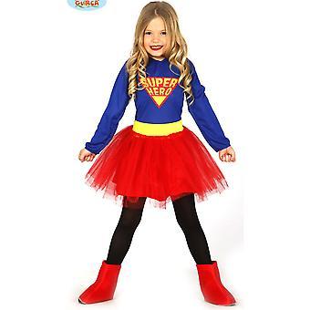 Children's costumes  Super Hero dress up costume for girls