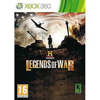 History Legends of War (Xbox 360) - Fabrik versiegelt