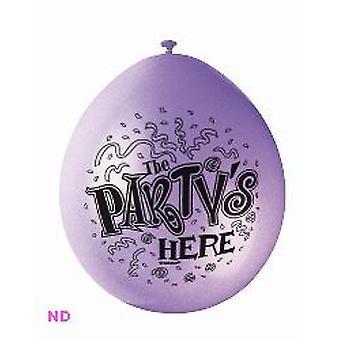 """Ballons le Parti ICI 9 """"Ballons Latex (10)"""