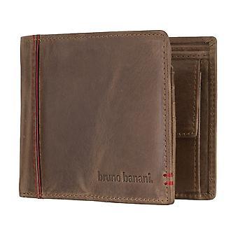 Bruno banani mens carteira carteira conhaque/vermelho 4894