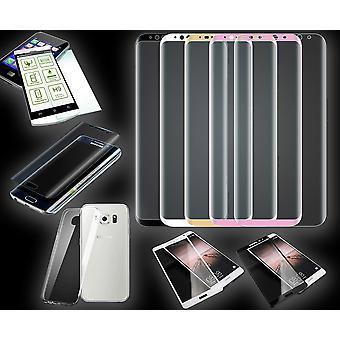 Szkło hartowane / pełny ekran szkło hartowane / hybrydowy TPU zbiornik slajdów / rękawy silikonowe TPU dla wielu smartfonów