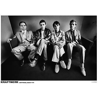 Kraftwerk Sofa Amsterdam 1976 Poster Poster Print