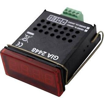 Greisinger GIA 2448 digitaalinen teline-mount mittari digitaalinen standardi signaali asennus näyttö GIA 2448 0-20 V/0-10 V/0-2 V/0-1 V/0-200 mV/0-20 mA, 4-