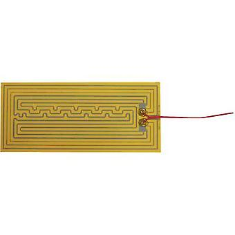 Thermo poliestere riscaldamento della stagnola autoadesiva 12 Vdc, 12 V AC 25 W IP valutare IPX4 (L x W) 320 x 140 mm