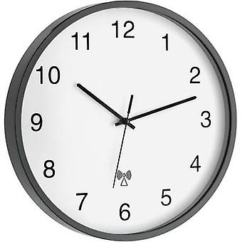 TFA Dostmann 60.3511.10 Radio Wall clock 302 mm x 40 mm Anthracite