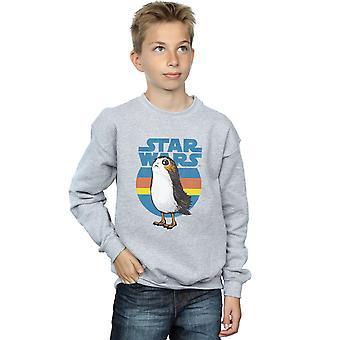 Star Wars Jungs die letzten Jedi Porg Sweatshirt