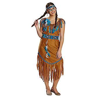 Costume indien Mesdames du Far West Spuaw Carnaval