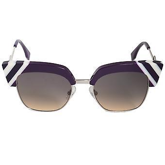 Fendi golven Square zonnebril FF0241S B3V GA 50