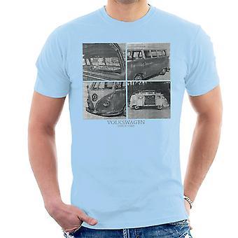 Official Volkswagen Camper Sketch Men's T-Shirt