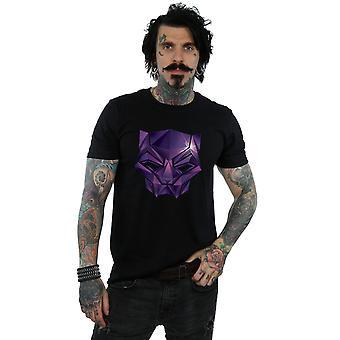 Marvel Men's Avengers Infinity War Black Panther Geometric T-Shirt