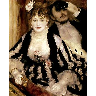 La Loge, Pierre Renoir, 50x40cm