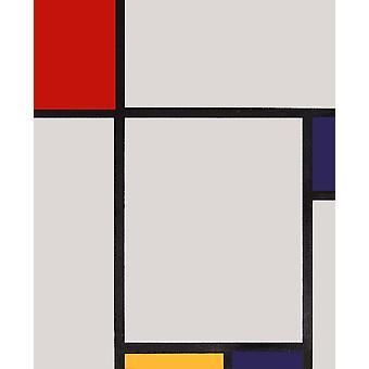 Összetétel, Piet Mondrian, 50x60 cm