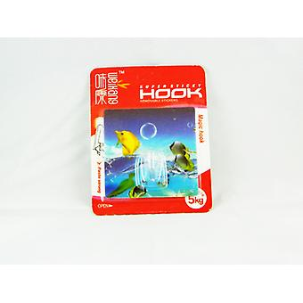 Magic Hook-Wall hook with glue (square #6)