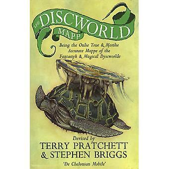 テリー ・ プラチェット - スティーブン ・ ブリッグス - 978055214324 によってディスクワールド Mapp
