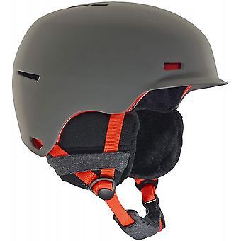 Anon capacete corvo feminino - cinza