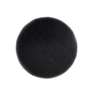 Stjernsund Hanger botão de veludo estampado preto 10 cm