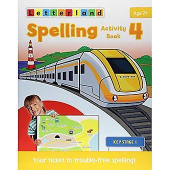 Spelling Activity Book 4 (Spelling Activity Books 1-4)