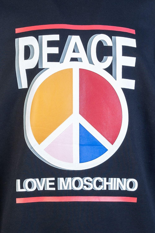 Moschino Round Neck Sweatshirt M6470 33 M3875