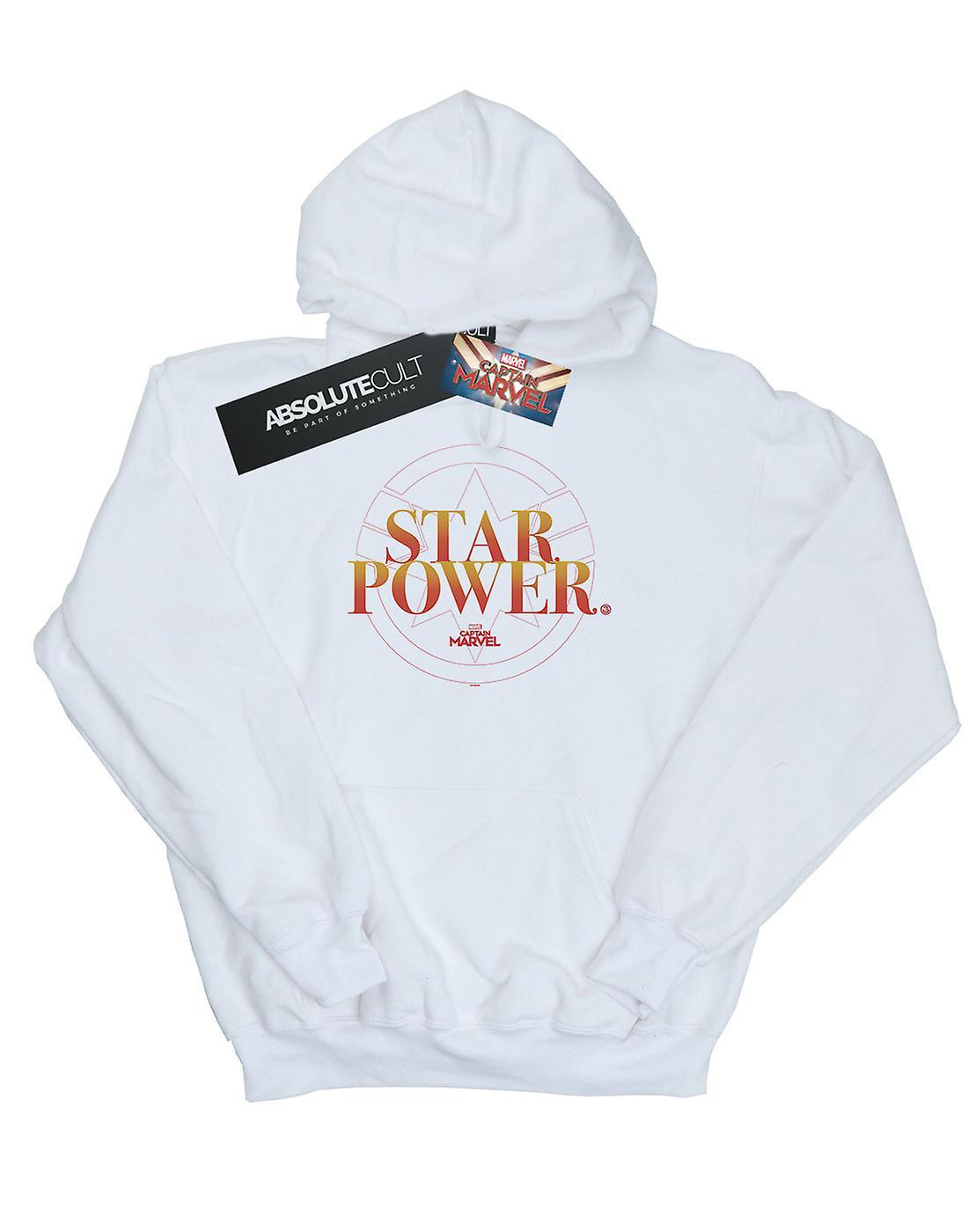 Marvel Girls Captain Marvel Star Power Hoodie