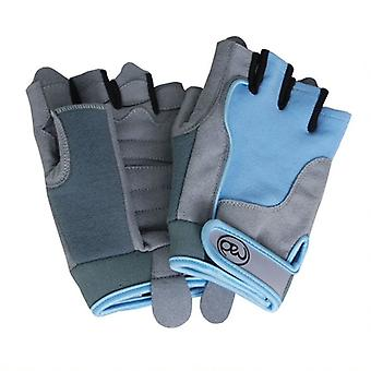Fitness Mad Ladies Cross Training Gloves in Blue