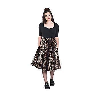 Hell Bunny Panthera 50's Skirt