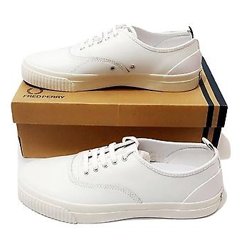 Fred Perry Men's New Casual Vulc Leather Shoes B9127-100