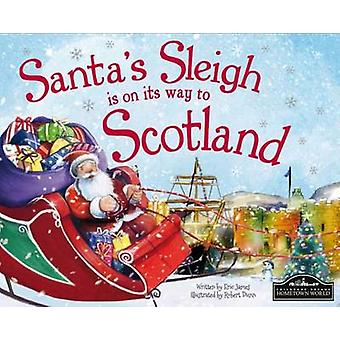 Santa's Sleigh is on its Way to Scotland by Eric James - Robert Dunn