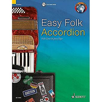Easy Folk Accordion - 29 Traditional Pieces by Jonny Dyer - Vicky Swan