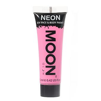 Moon Glow - 12ml Neon UV Gesicht & Body Paint - Pastell rosa