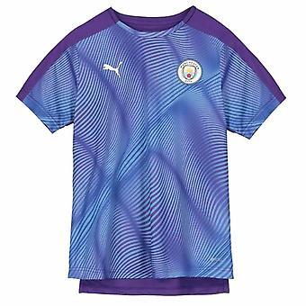 2019-2020 Manchester City Puma Stadium Jersey (Purple) - Kids
