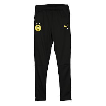 2019-2020 Borussia Dortmund Puma Training Pants (Black)
