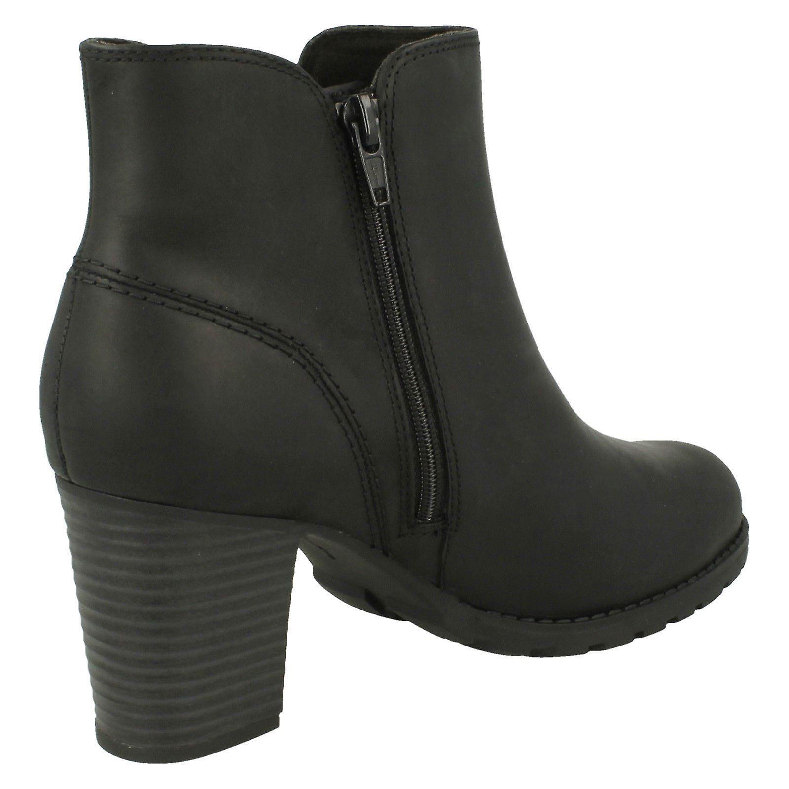 Ladies Clarks zippe Ankel Boots Verona Trish