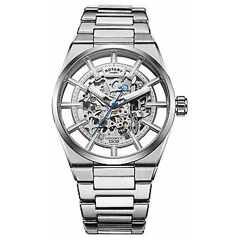 Rotary | Men's Greenwich G3 Automatic | Stainless Steel Bracelet | GB05210/06 Watch