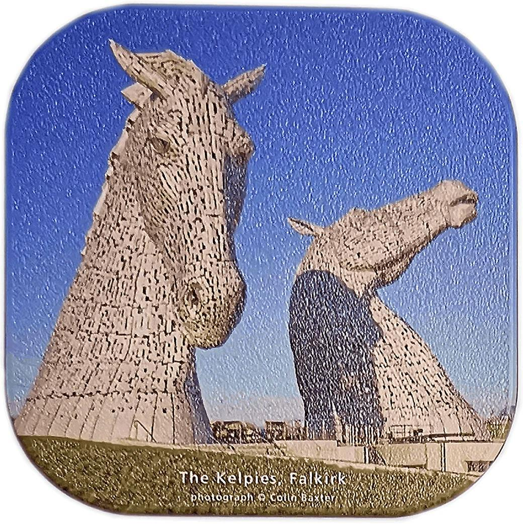 Kelpies, Falkirk Coaster by Colin Baxter Photography