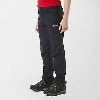 New Berghaus Boy's Walking Trousers Black
