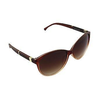 Sunglasses Ladies Butterfly - Gold/Bruin2583_2