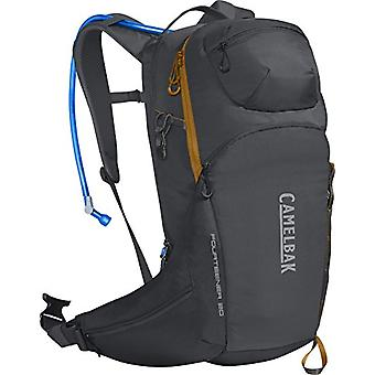 CamelBak Fourteener 20 - Unisex-Adult Backpack - Charcoal/Rust Orange - 3 L