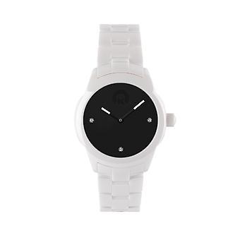 KRAFTWORXS Women's Watch horloge vollemaan keramische kristallen FML 2BW S