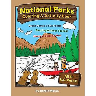 America's National Parks Coloring and Activity Book by Carole Marsh -