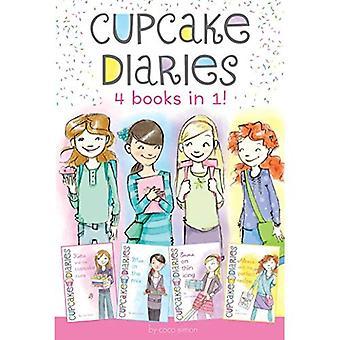 Cupcake Diaries 4 Bücher in 1!: Katie und Cupcake-Heilung; MIA in der Mischung; Emma auf dünne Glasur; Alexis und der...