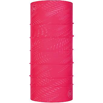 Buff New Reflective Neck Warmer in R-Solid Fuchsia