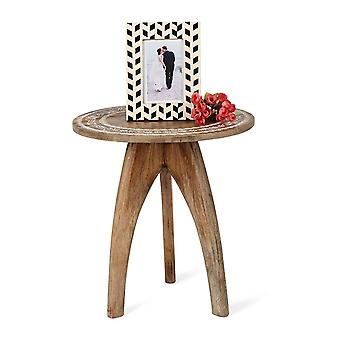 Penguin Home Mango Wood Round Table