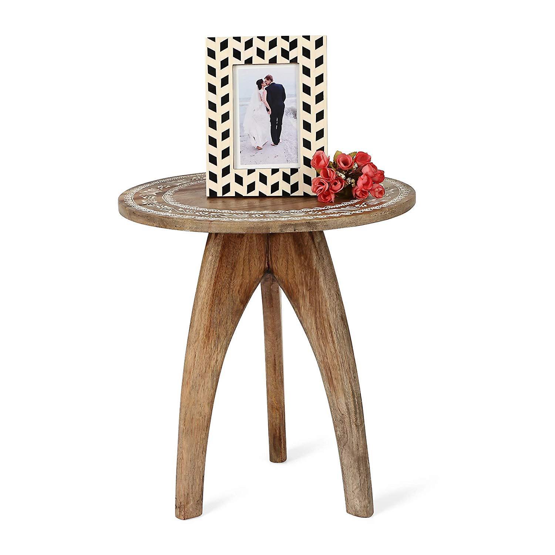 Penguin Home Mango Wood Round Table