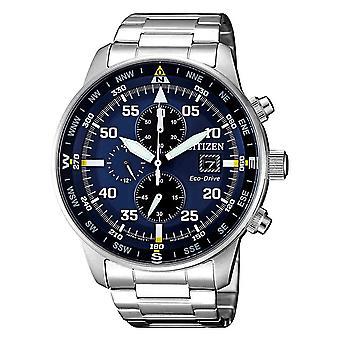 Citizen Ca0690-88l Chronograph Eco-Drive Men's Watch 44 Mm
