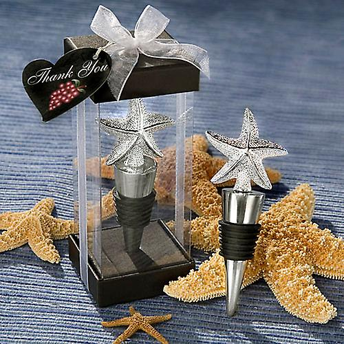 Elegant Starfish Design Bottle Stopper