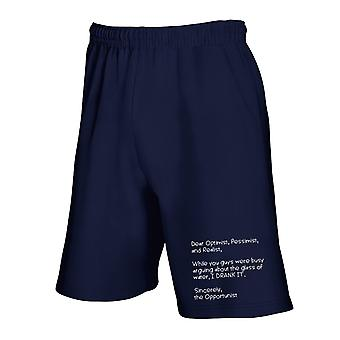 Pantaloncini tuta blu navy trk0563 wglass water