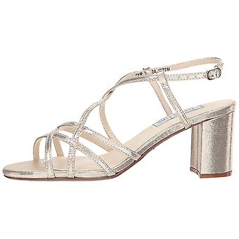 Touch Ups Womens Touch Ups Eva Leather Open Toe Ankle Strap Classic Pumps