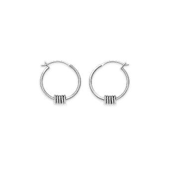 Rosefield JSHLS-J068 Earrings - Iggy Larges Multiple Brass Rings Collection