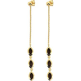 Kira Dor earrings - Quartz Fum