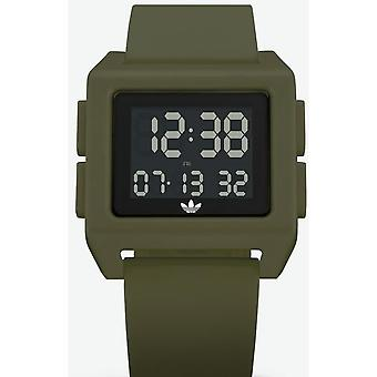 Adidas Originals Watch Z15-3118-00 - ARCHIVE-SP1 Silicone Green Box And Steel Green Carr Men/Women